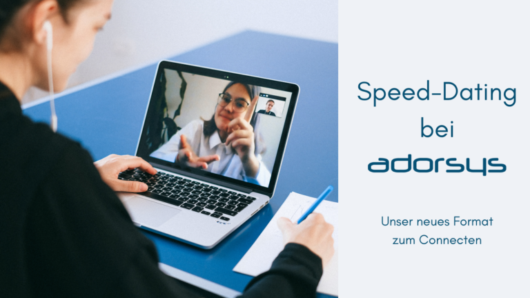 Speed Dating at adorsys