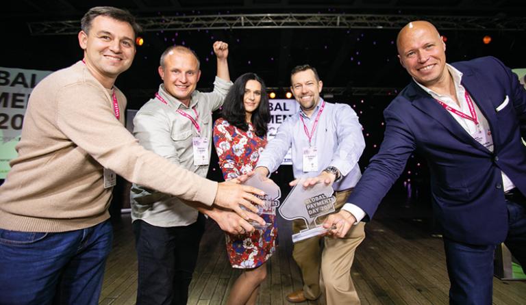 adorsys won award at global payments day